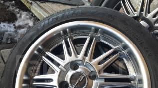 Литые диски с шинами. 6.5x15 4x98.00 ET35 ЦО 58,6мм.