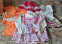 Платья, костюмчик на дочу. Рост: 68-74 см