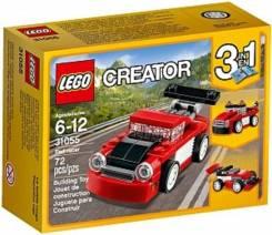 LEGO Игрушка Криэйтор Красная гоночная машина
