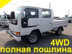 Nissan Atlas. 4WD, двухкабинник+борт, 2 700 куб. см., 1 500 кг.