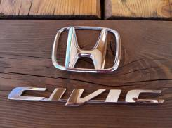 Эмблема. Honda Civic