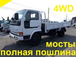 Nissan Atlas. 4WD, борт 4 тонны, 4 200 куб. см., 4 000 кг.