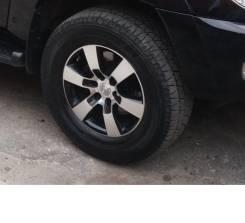 Продам колёса на прадо, сурф r17 в хорошем состоянии. 7.5x17 6x139.70 ET25 ЦО 106,1мм.