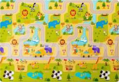 Двухсторонний коврик Green Soft 190 x 130 x 1.2 см. ТЦ Зелёный Остров