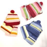 Шапка и шарф. Рост: 50-60, 60-68 см