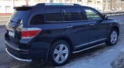 Пороги-площадка на тойота хайлендер 2011. Toyota Highlander. Под заказ