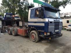 Scania. Тягач скания 112 6х4, 11 000куб. см., 20 000кг.