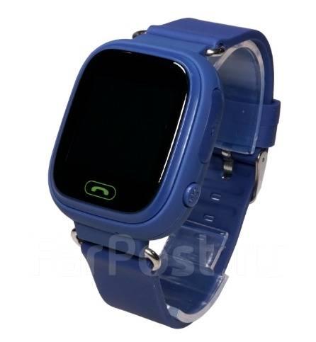 Детские часы с GPS трекером Smart Baby Watch Q90 Black DeviceVL