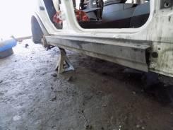 Накладка на порог. BMW X3, E83