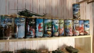 Коллекция пивных банок Жигули