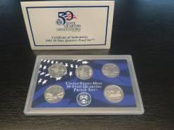 США Годовой набор квотеров (штаты) 2003 Proof SET