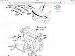 Датчик положения распредвала. Mazda: Roadster, Axela, MPV, Atenza, Premacy, Biante