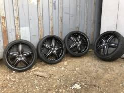 Dolce Wheels. 8.0x20, 5x114.30, ET45, ЦО 73,0мм.