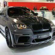 Обвес кузова аэродинамический. BMW X6, E71