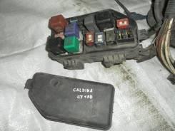 Блок предохранителей под капот. Toyota Caldina, CT190 Двигатель 2C