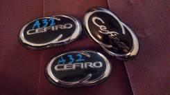Эмблема решетки. Nissan Cefiro, A32, A33