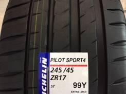 Michelin Pilot Sport. Летние, 2016 год, без износа, 4 шт