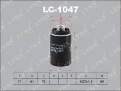 Фильтр масляный LYNXauto LC1047
