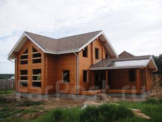 Строительство домов бань беседок из бруса