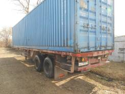 Одаз 9385. Продам полуприцеп площадку - контейнеровоз, 26 000 кг.