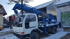 Nissan Condor. Грузовик 4WD мосты, Буровая Aichi 502, 4 200 куб. см., 3 000 кг.
