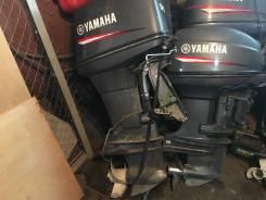 Yamaha. 90,00л.с., 2х тактный, бензин, нога L (508 мм), Год: 2013 год