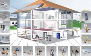 Проектирование, монтаж систем отопления.