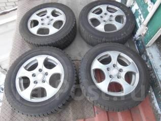 Продам комплект зимних колес на литье. 6.0x15 5x114.30 ET50 ЦО 55,0мм.