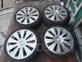 Продам комплект летних колес на литье. 7.5x18 5x100.00, 5x114.30 ET48 ЦО 58,0мм.