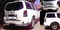 Защита бампера. Nissan Pathfinder