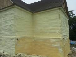 Утепление пенополиуретаном (ппу) фасады фундаменты, мансарды, бани,