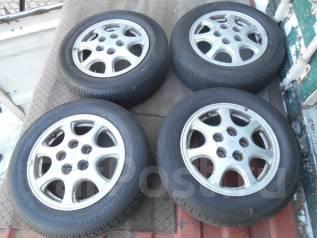 Продам комплект летних колес на литье. 6.0x15 5x114.30 ЦО 60,0мм.