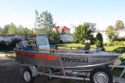 Wellboat. Год: 2014 год, длина 4,20м., двигатель подвесной, 20,00л.с., бензин