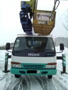 Aichi SK210. Продам автовышку 21 м Aichi SK 210 на базе Isuzu Elf, 4 900 куб. см., 21 м.