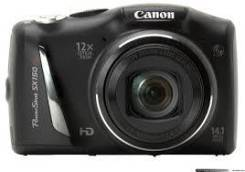 Canon PowerShot SX150 IS. 10 - 14.9 Мп, зум: 12х