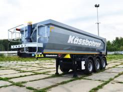 Kassbohrer. Самосвальный полуприцеп DL 22 м3, 31 000 кг.