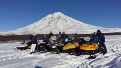 Прокат снегоходов, снегоходные туры по Камчатке