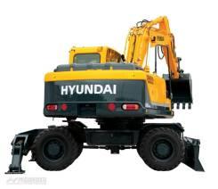 Hyundai. Продам Экскаватор колесный R180W-9S (ковш 0,89 куб. м. ), 4 996 куб. см., 0,89куб. м.