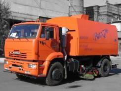 Кургандормаш КО-318Д. КО-318Д на шасси Камаз-53605 вакуумная подметально-уборочная (пылесос), 1 800 куб. см.