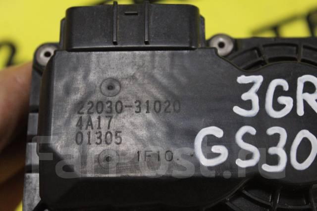 Заслонка дроссельная. Lexus: IS300, IS350, IS350C, IS250C, IS250, IS300h, GS450h, IS220d, IS200d, GS250, GS350, GS460, GS430, GS300, IS200t Toyota Cro...