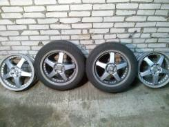 RS Wheels. 7.5x17, 5x114.30, ET45