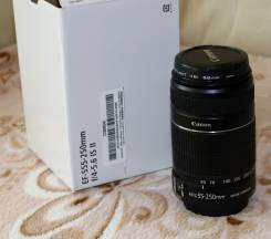 Canon EF-S 55-250 mm 1/4-5.6 IS II. Для Canon, диаметр фильтра 58 мм