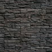 """Искусственный камень Kamrock """"Скалистая гора"""" черный"""