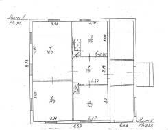Продам дом в с. Чернышевка. С. Чернышевка, р-н Анучинский, площадь дома 49 кв.м., скважина, электричество 10 кВт, отопление электрическое, от агентст...