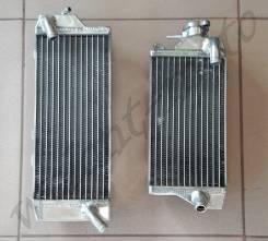 Радиаторы TRS-R-124 Серый Kawasaki KX450F (12-15), KLX450F(12-13)