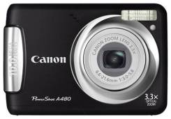 Canon PowerShot A480. 10 - 14.9 Мп, зум: 3х