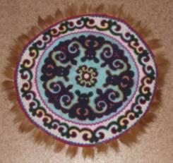 Подарок нанайский коврик сделанный в ручную продам