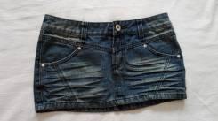 Юбки джинсовые. Рост: 158-164, 164-170 см