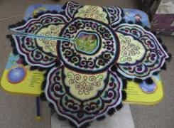 Подарок Нанайский свадебный воротник сделанный в ручную