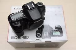 Canon EOS 40D Body. 15 - 19.9 Мп, зум: без зума